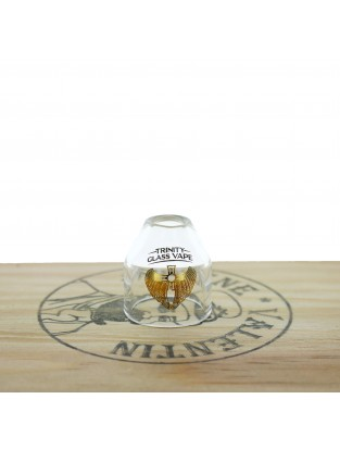 Flave 22 Glass Cap Bullet - Trinity Glass