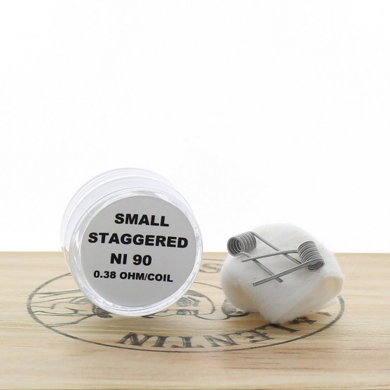 """Paire de Coils """"Small Staggered"""" Ni90 - Coils Connections"""