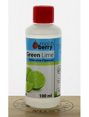 Green Lime 100ml - Molinberry