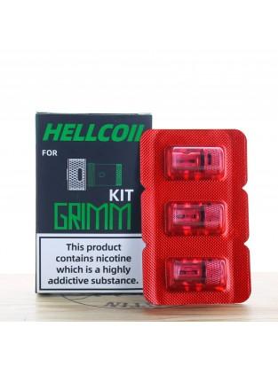 Hellcoil H3-02 Grimm 1.2 Ohm (Pack de 3) - Hellvape