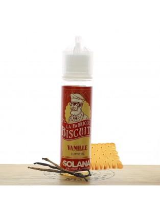 """La Fabrique à Biscuits """"Vanille"""" 50ml - Solana"""