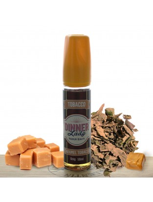 Caramel Tobacco 50ml - Dinner Lady