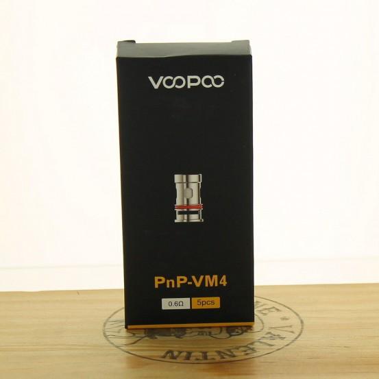 Résistance PnP Mesh VM4 0.60ohm (Pack de 5) - Voopoo