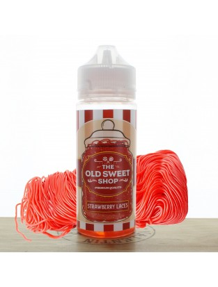Strawberry Laces 100ml The Old Sweet Shop
