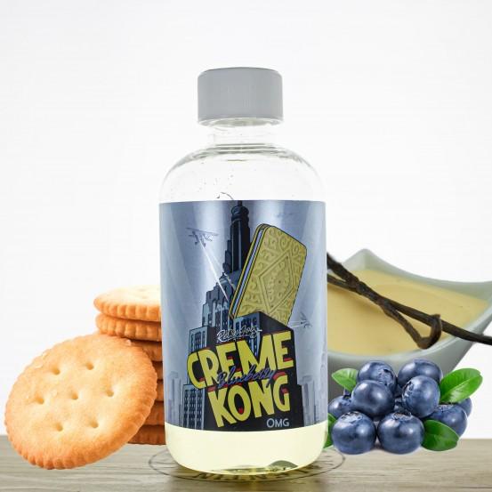 Creme Kong Blueberry 200ml - Joe's Juice